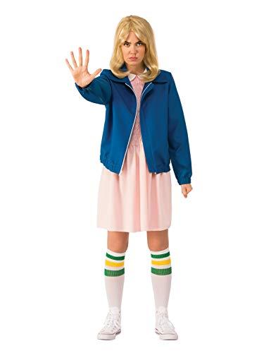(Rubie's Costume Co Women's Stranger Things Season 1 Adult Eleven Jacket, Blue,)