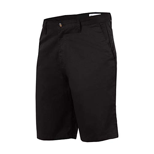 Volcom Men's Frickin Chino Short, Black, 33 (Volcom Skateboard)