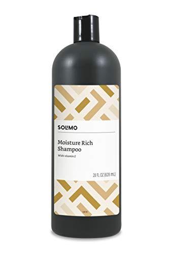 Amazon Brand - Solimo Moisture Rich Shampoo, 28 Fluid Ounce