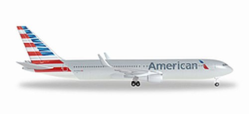 500 American Airlines - HERPA American 767-300ER New Livery REG#N349AN Die Cast Aircraft (1/500 Scale)