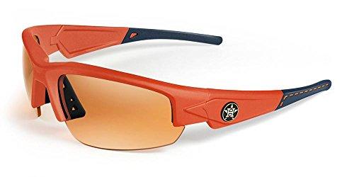 MAXX SUNGLASSES HDHOUSTON ASTROS DYNASTY 2.0 (NAVY/ORANGE, - Houston Sunglasses