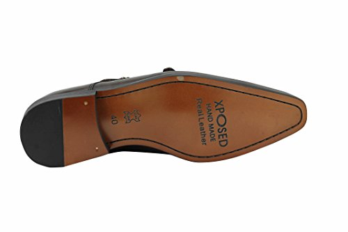 homme STrap Monk Monk Xposed homme Marron Xposed STrap 5zvd8wXnqX