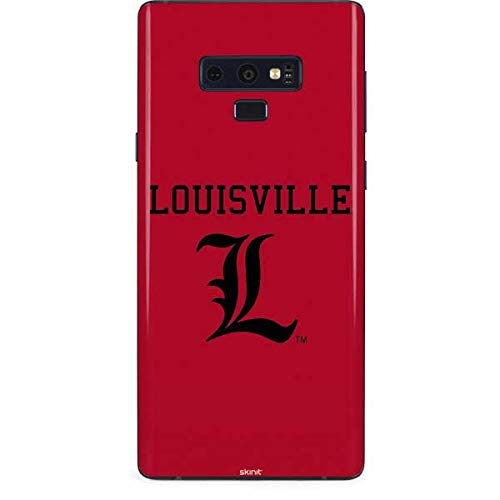 Skinit Louisville Cardinals Galaxy Note 9 Skin - Officially Licensed College Phone Decal - Ultra Thin, Lightweight Vinyl Decal Protection ()