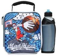 Arctic Zone Kids' Lunch Bag & Water Bottle Set, Basketball