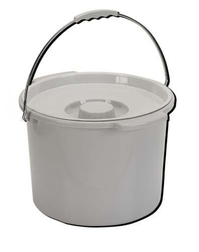 12 Quart Commode - Commode Pail With Lid 12 Quart