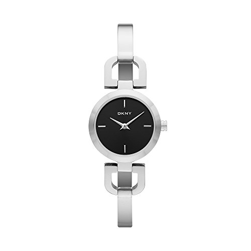 Dkny Womens Stainless Steel Bangle Watch (DKNY Women's NY8541 READE Stainless Steel Watch)