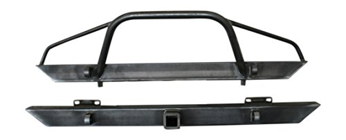 Affordable Front and Rear Bumper Set-Jeep Cherokee XJ