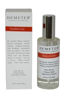 Price comparison product image Demeter By Demeter Womens Sandalwood Cologne Spray 4 Oz