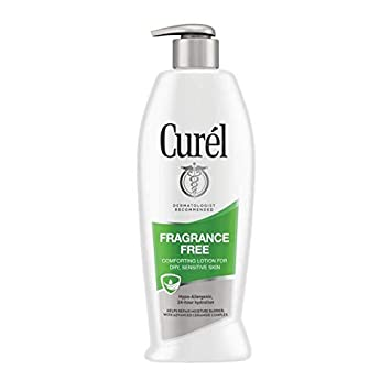 Curel Daily Moisture Fragrance-Free Lotion For Dry Skin 13 oz Pack of 3