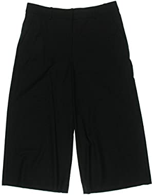 Theory Womens Wool Capri Dress Pants