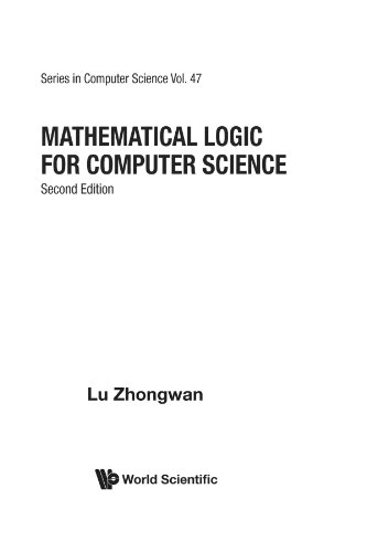 Mathematical Logic For Computer Science (2Nd Edition) (World Scientific Computer Science)