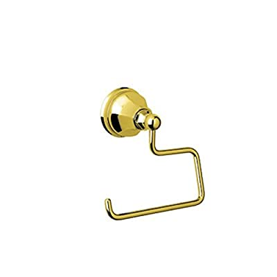 Rohl A6892 Palladian Wall Mounted Single Post Toilet Paper Holder, Inca Brass