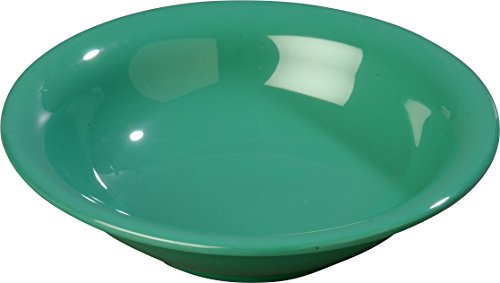 - Green Durus 16 Ounce Rimmed Bowl 7 1/2 inch - 24 per case