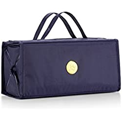 Joy Mangano Better Beauty Case, Large, Navy