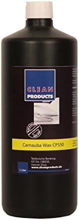 Cleanproducts Autowachs Cp550 1 Liter Carnaubawachs Auto Versiegelung Mit Lackpflege Für Strahlenden Hochglanz Intensive Farben Hohe Farbbrillanz Zur Autoaufbereitung Fahrzeugaufbereitung Auto