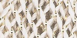 (Aunt Lydia's Bulk Buy Crochet Cotton Metallic Crochet Thread Size 10 (3-Pack) Natural/Gold 154M-0226G)