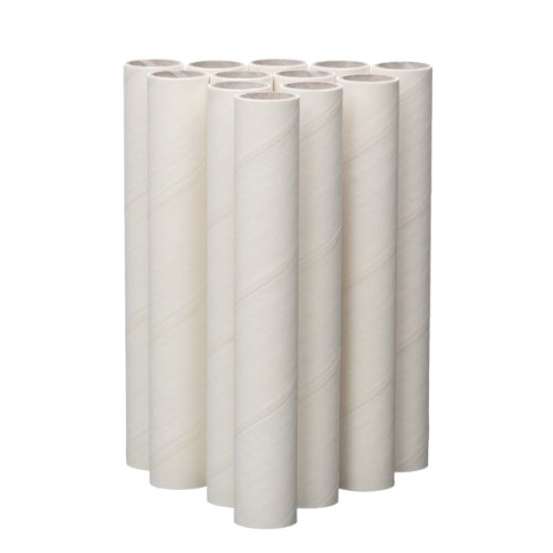 Lady Mary/Ateco 4-Inch Parchment Coated Paperboard Dowels, 12-Pack