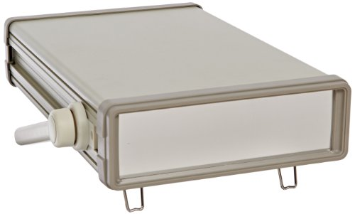 BUD Industries IA-6160 Aluminum Instrument Case with Plastic Front and Rear Bezels, 8-17/64