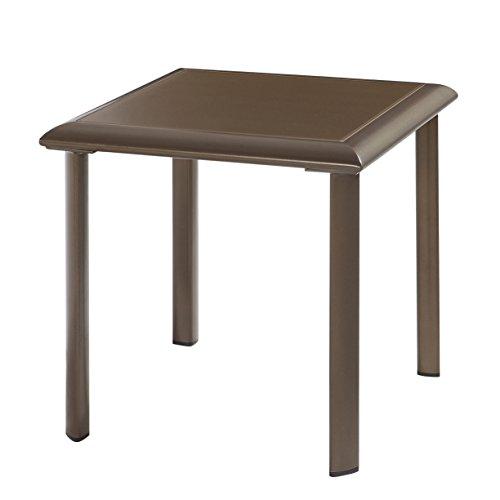 Emerald Home Furnishings OT1311-1 Talon Outdoor end Table, Standard ()