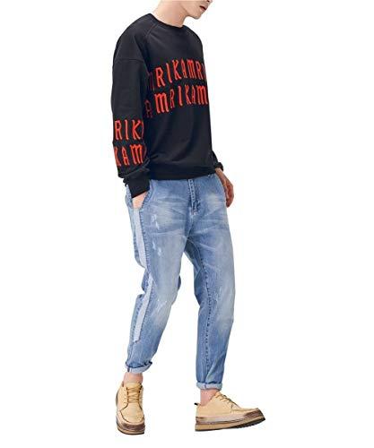 Chicos Destruidos De Clásico Vintage Pantalones Vaqueros Pantalones Moda Pantalones De De De Blau2 Mezclilla Ocio Mezclilla Hombres Pantalones Mezclilla Pantalones Suaves De Cómodamente De Los De qPZWPEvSU