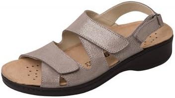 Orthopädische Sandale mit auswechselbarem Fußbett: