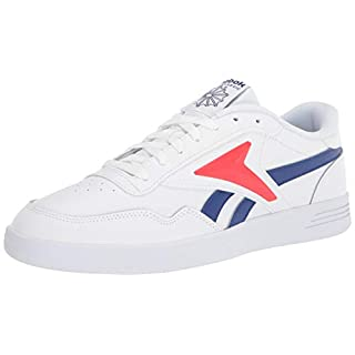 Reebok Men's Club MEMT Sneaker, White/Cobalt/Instinctive Red