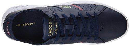 Maestro Lacoste Novas Ct 118 1 Ppm Sneaker, Blu Blu (nvy / Rosso)