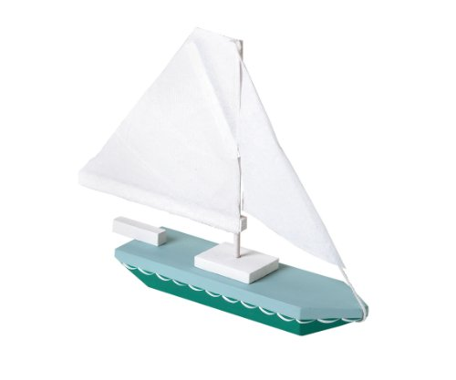 Darice 9169-04 Wood Sailboat Model Kit -