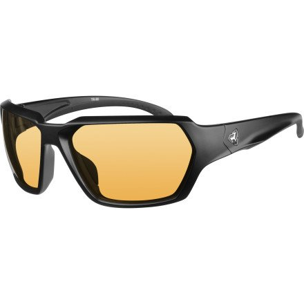 Ryders Eyewear FACE Cycling Sunglasses with Orange Photochromic Tint Changing Lenses, - Sunglasses Change That Tint