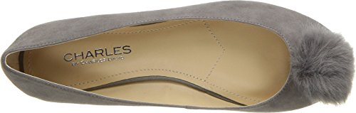 Charles by Charles David Womens Danni Ballet Flat Slate Suede CD78H6iUe