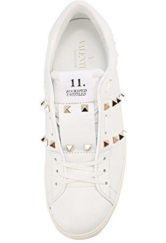 36 White 41 40 fashien GARAVANI VALENTINO B 6 39 US 7 11 37 M 9 42 8 Rockstud 38 12 Sneakers 10 IXqwv