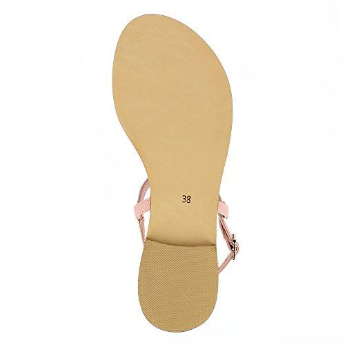 donna Olimpia Sandalo pelle Evita sandalo liscia da con Shoes in WOnInqTU
