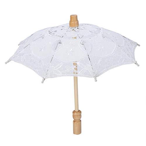 Umbrellas - Handmade Lace Flower Embroidery Umbrella Elegance Atmosphere Wedding Bride Photography - Umbrella Candle Umbrella Sun Decor With Wedding Umbrella Yiyang Lace Lace Umbrella Umbrella U