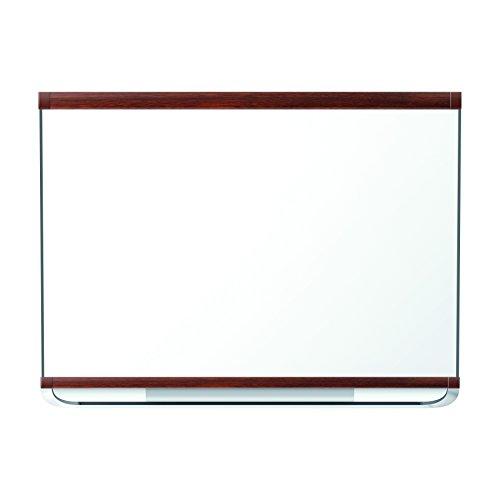 Mahogany Frame Whiteboard (Quartet Prestige 2 Total Erase Magnetic Whiteboard, 4 x 3 Feet, Mahogany Finish Frame)