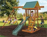 Best backyard discovery cedar swing set - Big Backyard Meadowvale II Wooden Play Set Review