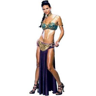Star Wars Princess Leia Slave Costume X-Small ()