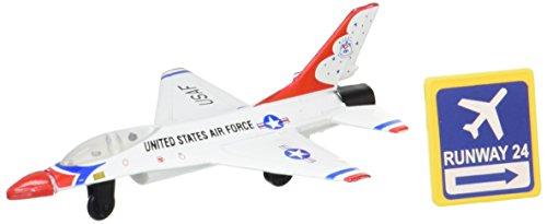 Daron Worldwide Trading Runway24 F-16 Thunderbird No Runway Vehicle ()