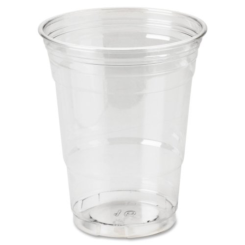 Wholesale CASE of 25 - Dixie Foods Crystal Clear Plastic Cups-Cold Drink Cups, 16 oz., 25/PK, Clear Plastic