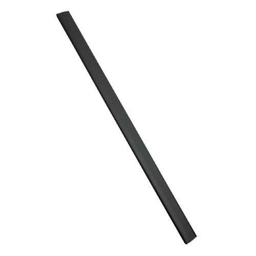 Slide 'N Grip Binding Bars, Black, 11 x 1/4, 100/Box by C-Line