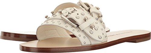 Alexander Mcqueen Womens Sandal Pelle S.cuoio Gesso