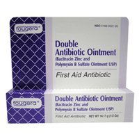 Bacitracin Zinc And Polymyxin B Sulfate Ointment 1/2 Oz ( Double Antibiotic Ointment (Fougera Bacitracin Zinc Ointment)
