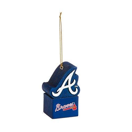 Team Sports America Mascot Ornament, Atlanta Braves