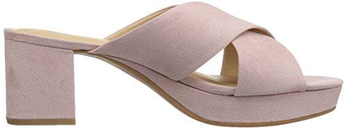 Suede CL Chinese Super Kismet Slide Rose Pink Women's Sandal Laundry Platform by PpWnqPvU