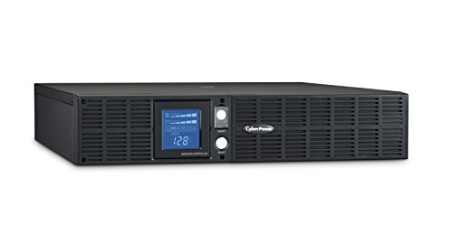 CyberPower OR2200LCDRTXL2U Smart App LCD UPS System, 2190VA/1650W, 8 Outlets, AVR, 2U Rack/Tower (1000 Backups Smart Ups)