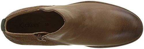 Kickers Lower - Botines Mujer marrón (marrón)