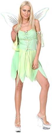 Disfraz de hada verde sexy para mujer: Amazon.es: Juguetes y juegos