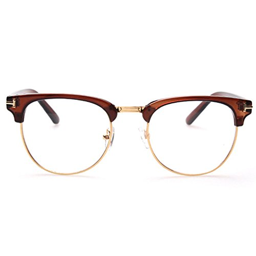G&T Fashionable Unisex Retro Large Framed Glasses Transform Myopia Lens - Face Oblong For Frames Spectacle