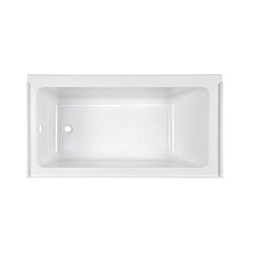American Standard 2946212.011 Studio 60 x 32 Inch Bathtub with Fold Over Edge - Left Drain, 60 in x 32 in in, -