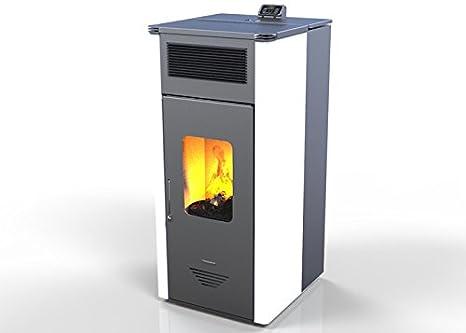 Hidro Estufa de Pellet LILY kW 20, bio eficiencia clase energética A+ eco calefacción y bioclimatismo sostenible, mando a distancia: Amazon.es: Hogar