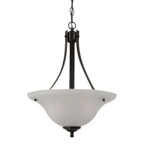 Sea Gull Lighting 65941BLE-782 2 Light Windgate Fluorescent Large Pendant Light